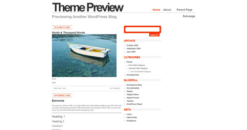 Minimahl - Top Quality Free Minimalist WordPress Theme