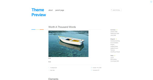 Neutra - Top Quality Free Minimalist WordPress Theme