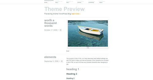 Wu Wei - Top Quality Free Minimalist WordPress Theme