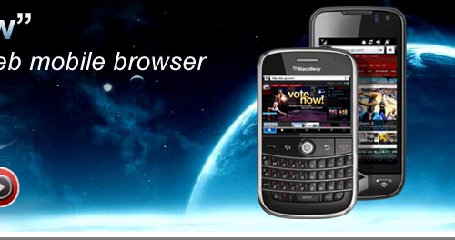 uZard mobile web browser