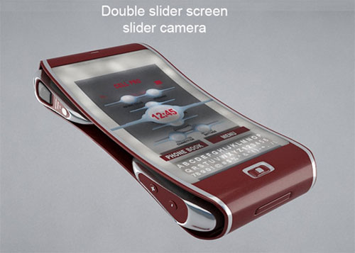Bend Mobile Cell Phone Concept 1
