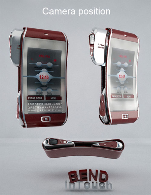 Bend Mobile Cell Phone Concept 2
