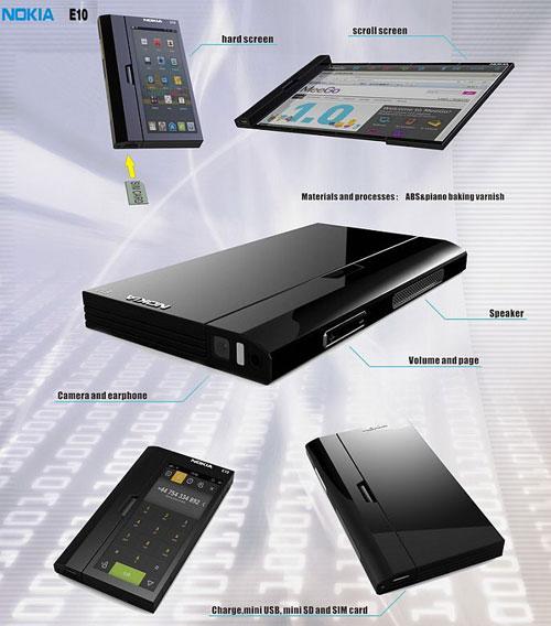 Nokia E10 Concept Phone 1