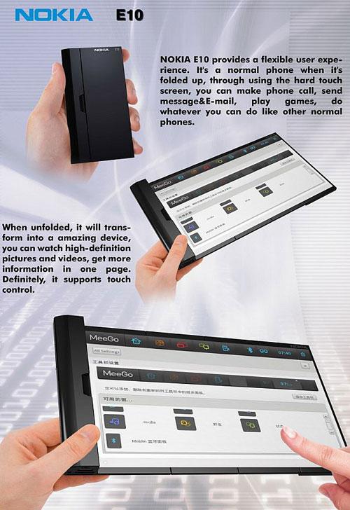 Nokia E10 Concept Phone 2