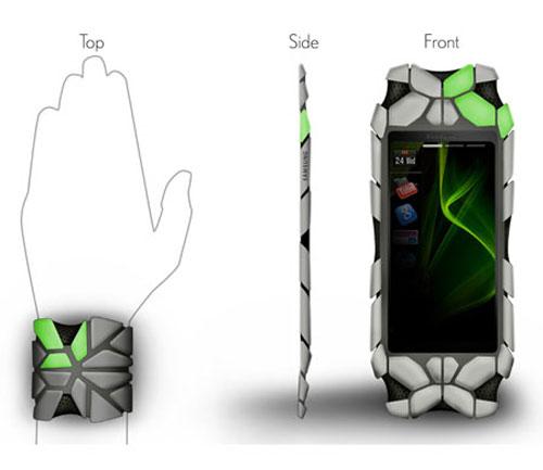 Samsung bracelet Concept Phone 2