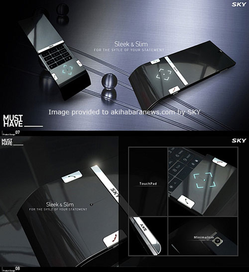 Sleek and Slim Concept Phone 1