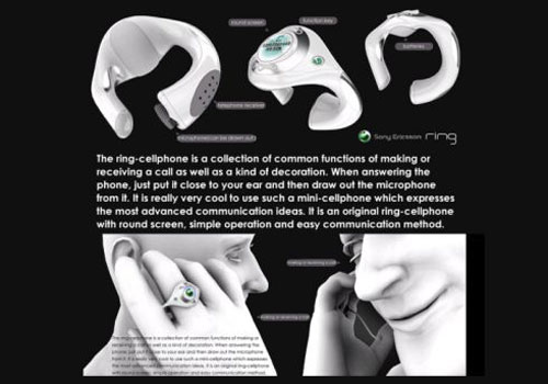 Sony Ericsson Ring Phone Concept 2