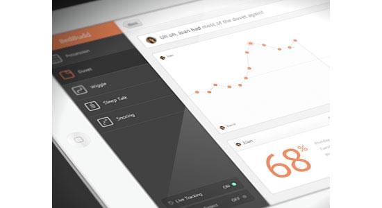 Huh Mobile User Interface Design Inspiration