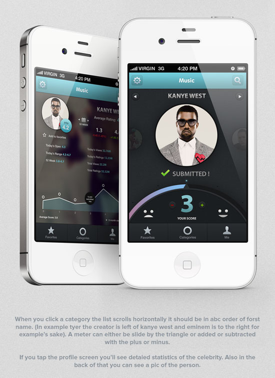 PPLrated Mobile User Interface Design Inspiration