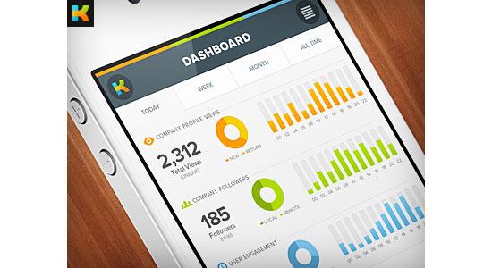 Kareer me Mobile User Interface Design Inspiration