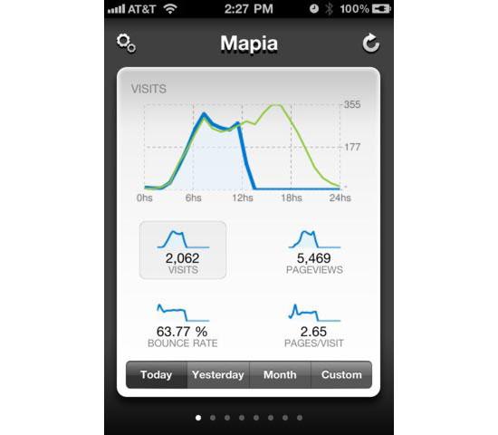 Mapia Mobile User Interface Design Inspiration