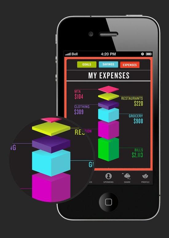 Vice Mobile User Interface Design Inspiration
