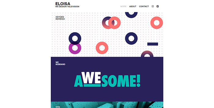 eloisa - 34 Of The Best Motion Graphics Studios And Their Work