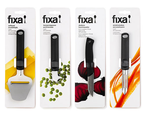 Fixa package design