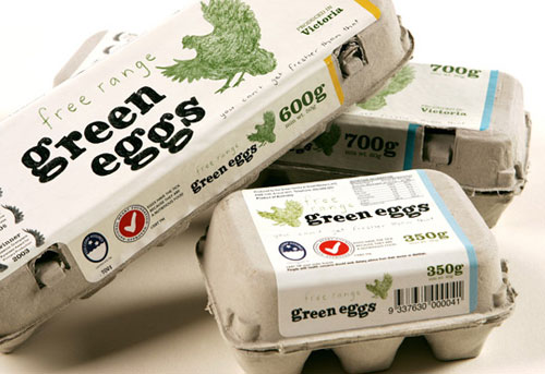 Green-Eggs Intelligently Made Food Packaging Ideas (100+ Examples)