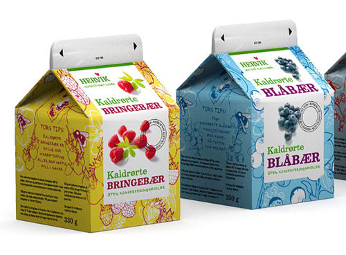 Hervik Intelligently Made Food Packaging Ideas (100+ Examples)