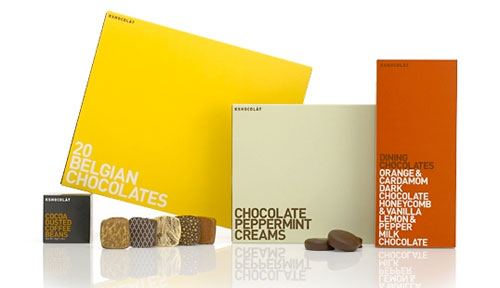 Kshocolat package design