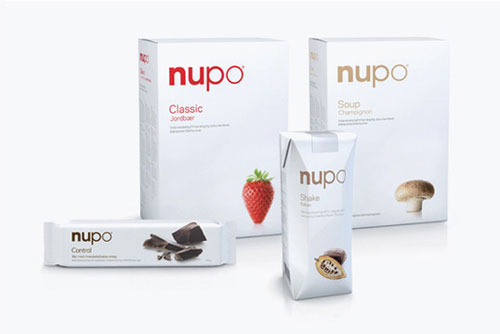 Nupo package design