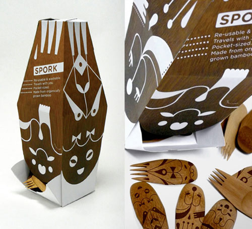 Spork Intelligently Made Food Packaging Ideas (100+ Examples)