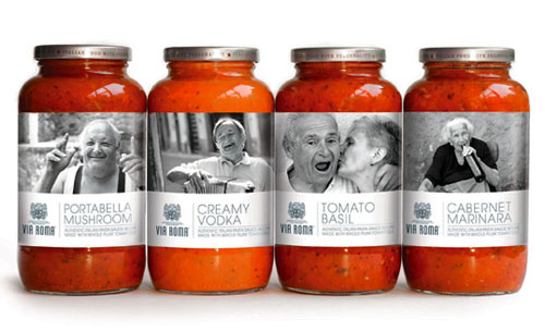Via-Roma Intelligently Made Food Packaging Ideas (100+ Examples)