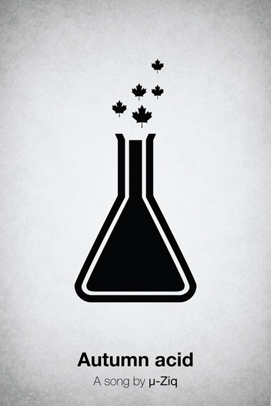 Autumn acid by µ-Ziq Poster Made With Pictogram