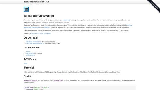 Backbone.ViewMaster