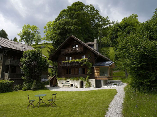 Chalet-Noisettes-1 Examples Of Houses With Superb Architecture And Are  Built In Nature
