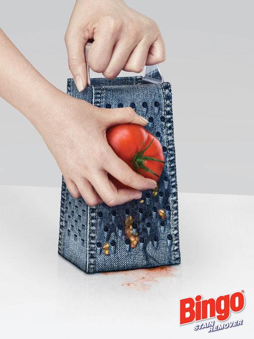 Bingo - stain remover print advertisement