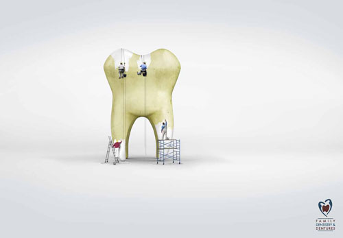 Clermont Family Dentistry And Dentures 2 print advertisement