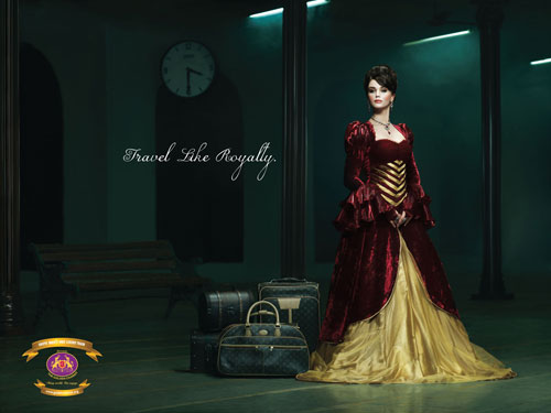 The Golden Chariot - Travel like royalty 2 print advertisement