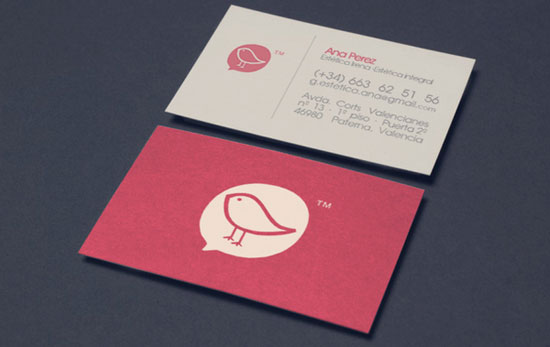 Ana Perez Business Card Inspiration