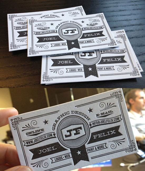 Joel Felix Business Card Inspiration