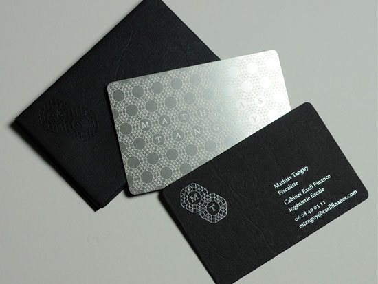 Mathias Tanguy Business Card Inspiration