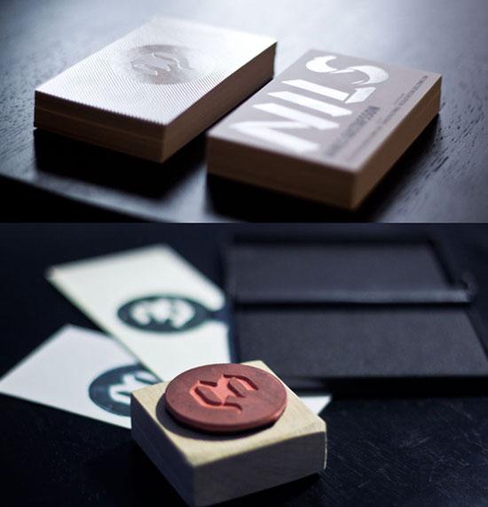 Nils Gustafsson Business Card Inspiration