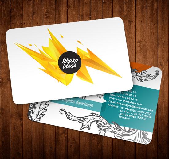 Sharp ideas Business Card Inspiration