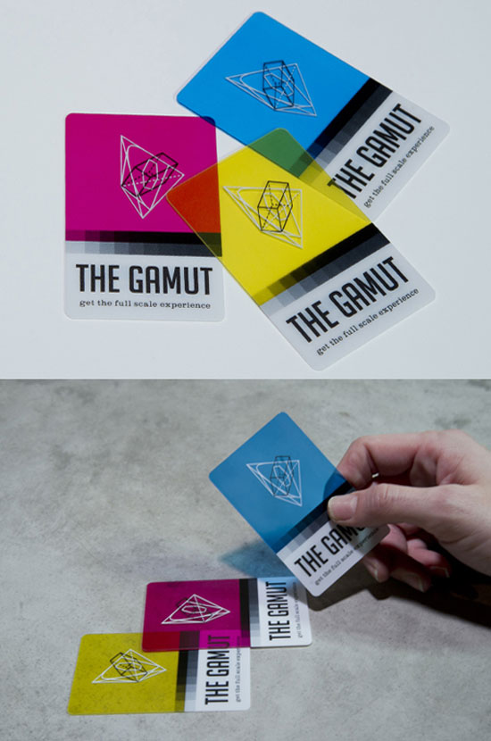 The Gamut Business Card Inspiration