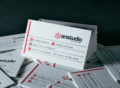 Anstudio Business Card