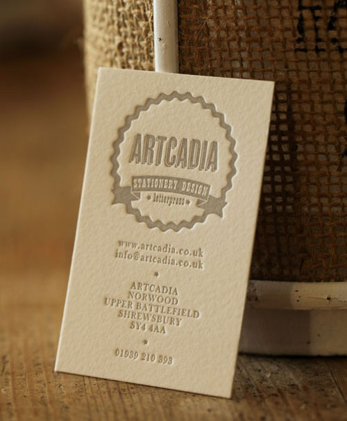 Artcadia Business Card