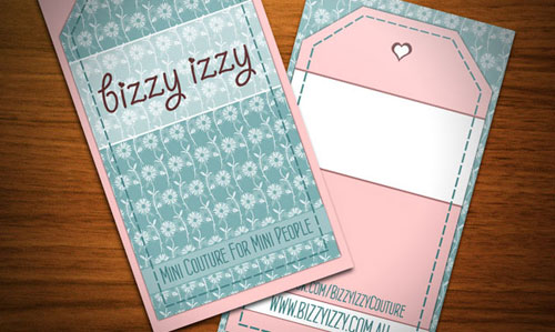 BizzyIzzy Business Card