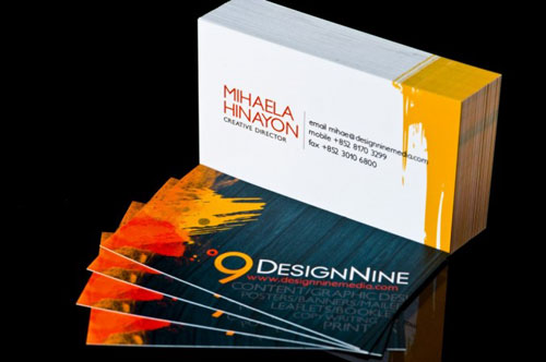 DesignNine Media Limited Business Card