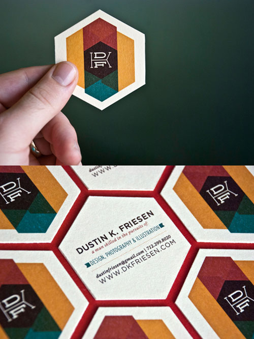 Dustin Friesen Business Card