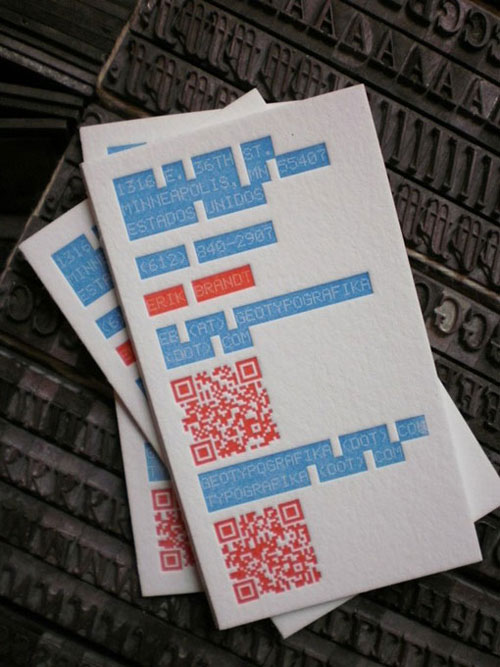 Geotypografika Business Card