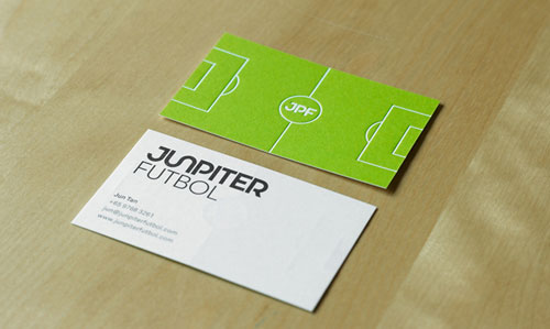 Junpiter Futbol Business Card