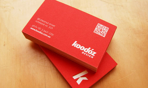 Koodoz Design Business Card