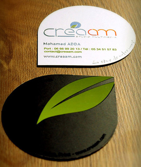Creaam Business Card Design Inspiration