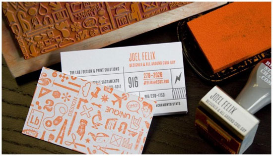 Joel Felix Business Card Design Inspiration