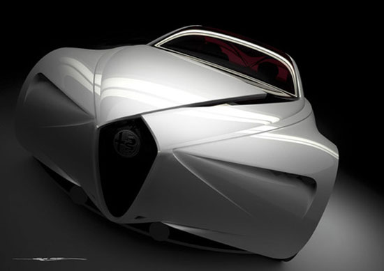 2017 Alfa Romeo Executive Fastback Saloon by Jacob Mcmurry Car concept Design. Vehicle For The Future