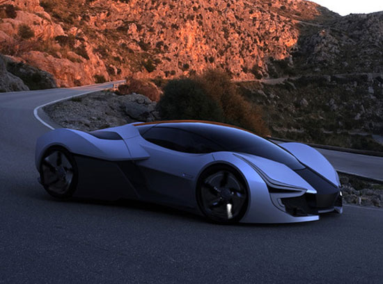 Aerius by Pei-Cheng (Patrick) Hsieh Car concept Design. Vehicle For The Future