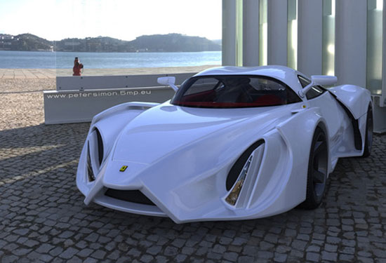 Ferrari Enzo by Peter Simon Car concept Design. Vehicle For The Future