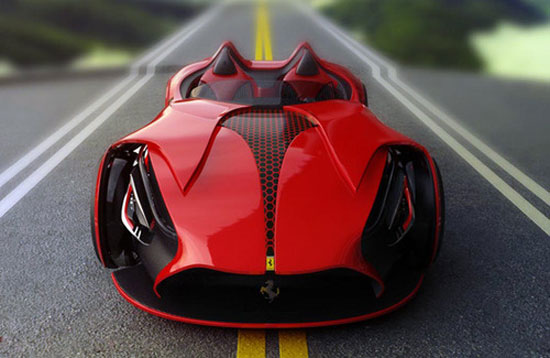 Ferrari Millenio by Marko Petrovic Car concept Design. Vehicle For The Future